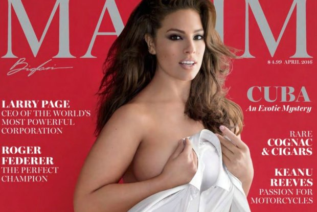 Ashley Graham, pierwsza modelka plus size na ok�adce magazynu