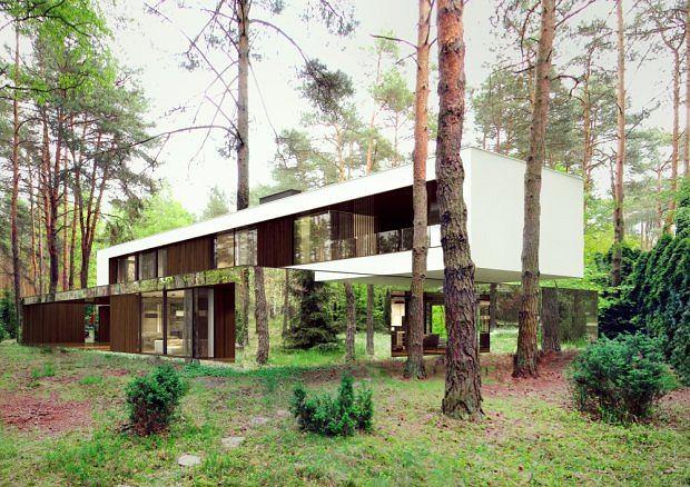 Dizajnerskie domy Warszawa