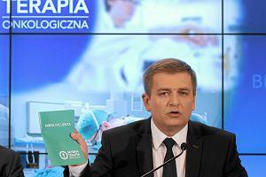 Minister zdrowia: Poprawi� pakiet onkologiczny