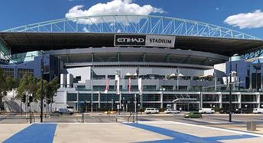 Stadion w Melbourne