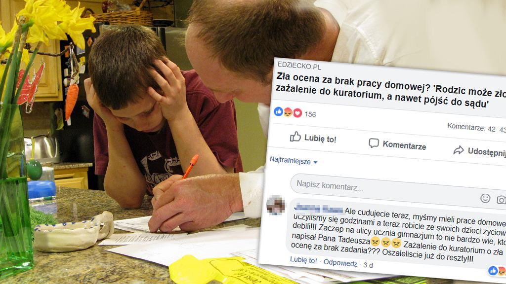 Gorąca dyskusja, czy zadawać uczniom prace domowe