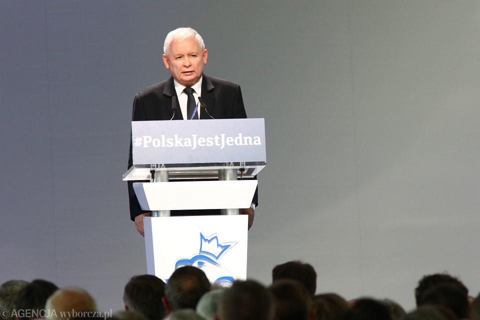 Jarosław Kaczyński, kongres PiS oraz Zjednoczonej Prawicy