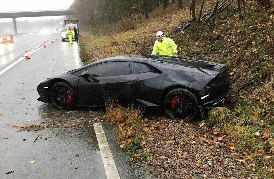 Jeff Schlupp Piłkarz Leicester Rozbił Lamborghini Nic