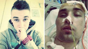 Młody mężczyzna został brutalnie pobity i przejechał po nim samochód