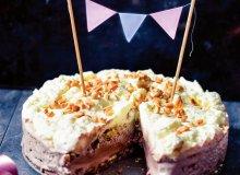 Tort z lodami czekoladowymi - ugotuj
