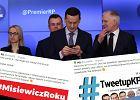 """PSL podkradło premierowi Morawieckiemu hasztag i przejęło tweetup w KPRM. """"Nie dziękujcie"""""""