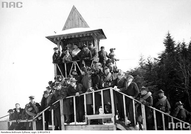 Zawody narciarskie w Zakopanem