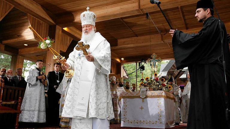 Patriarcha Rusi Cyryl I na Grabarce