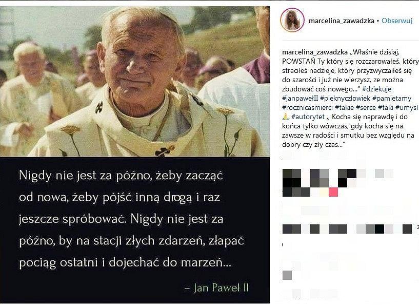 Anna Lewandowska Marcelina Zawadzka I Dorota Gardias Dodały Cytat