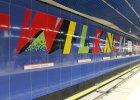 Druga linia metra. Próba samobójcza na stacji Dw. Wileński