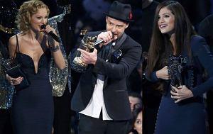 Taylor Swift, Justin Timberlake, Selena Gomez