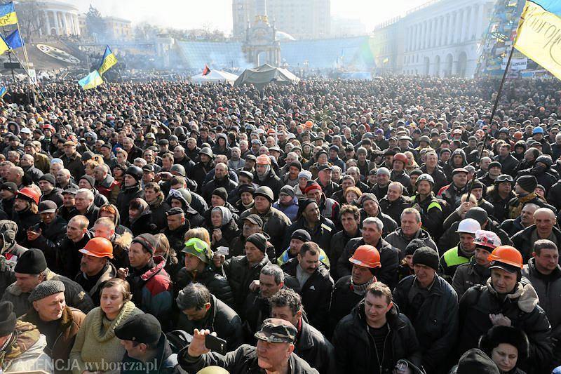 Protesty w Kijowie w 2014 roku