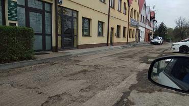 Remont ulicy Jana Pawła II w Stalowej Woli