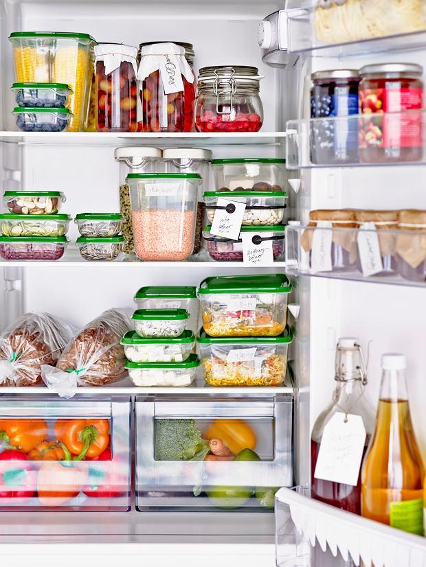 Jak prawidłowo układać żywność w lodówce?
