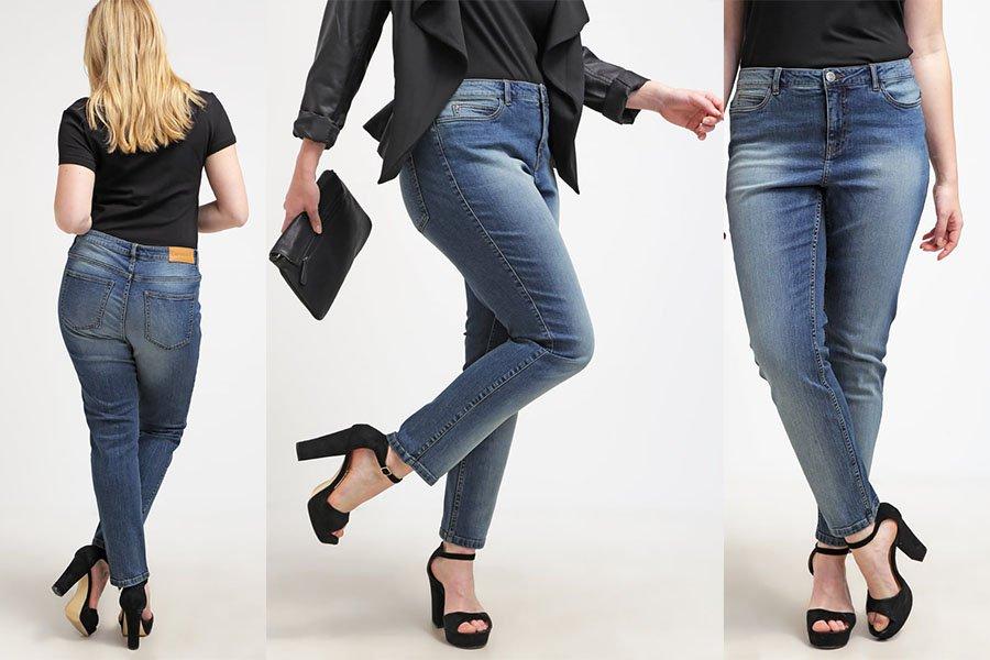 bf0eb016d7 Jeansy plus size na różne okazje - gotowe stylizacje