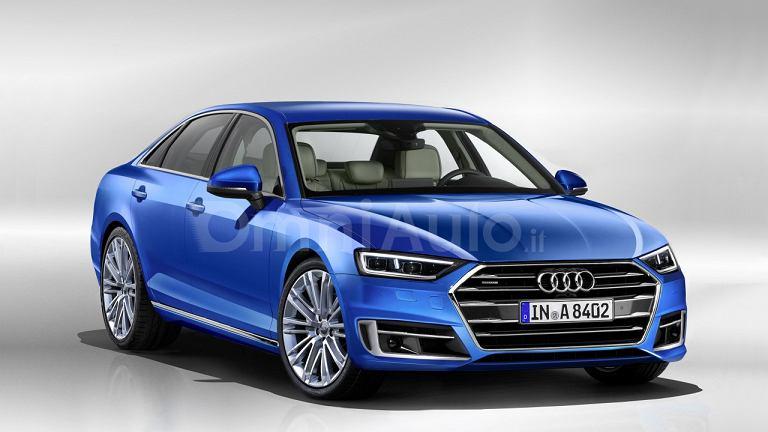 Wizualizacja Audi A8