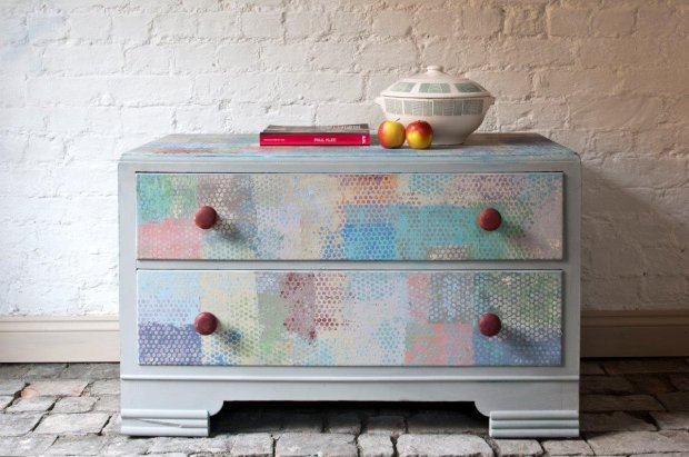 Meble pomalowane farbami Annie Sloan