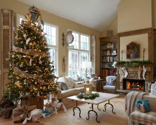 Najpiękniejsze wnętrza udekorowane na Boże Narodzenie