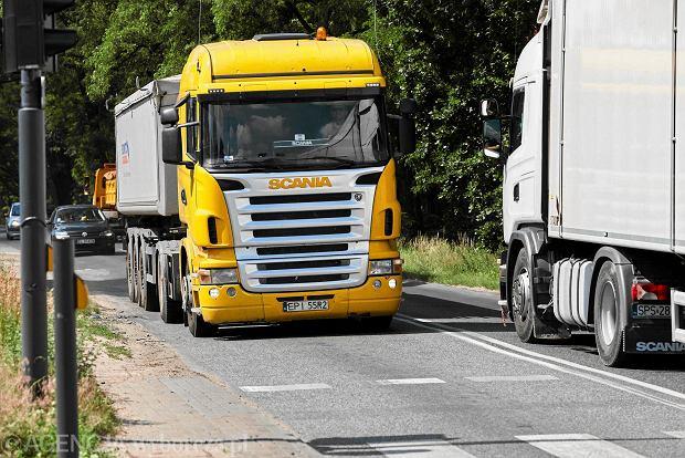 Brexit. Hamulec dla polskich ciężarówek