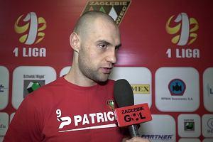 Michał Fidziukiewicz z Zagłębia Sosnowiec czekał na gola 258 dni