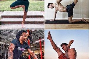 Przystojni faceci, którzy kochają jogę zmotywują cię do ćwiczeń [GALERIA]