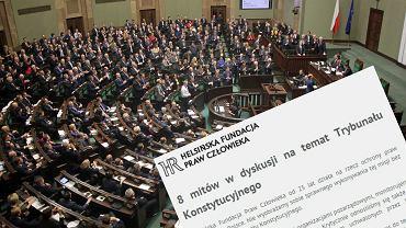Sejm w trakcie obrad