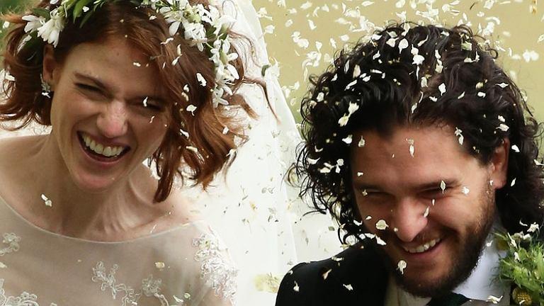 Para Z Gry O Tron Już Po ślubie Kit Harington I Rose Leslie