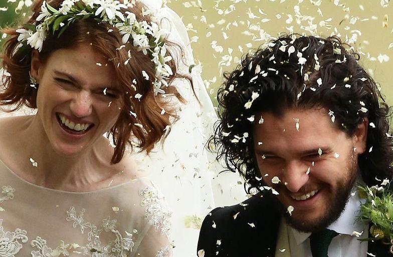 Ślub Kita Haringtona i Rose Leslie