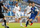Eduards Visnakovs w meczu Ruch Chorzów - PGE GKS Bełchatów