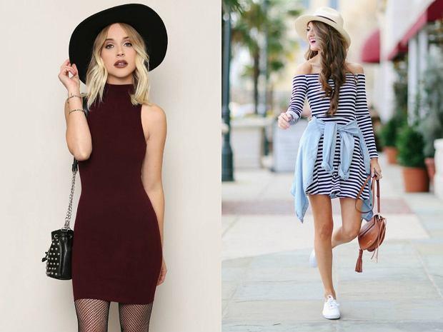 Dopasowane sukienki w letnim klimacie