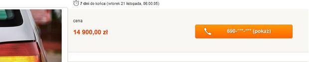 Jedna z nowych ofert w serwisie Allegro.pl