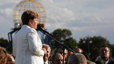 Beata Szydło w Gorzowie. Lipiec 2015