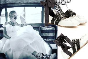 4b0187ad Kontrowersyjne buty ślubne Agnieszki Szulim wywołały skrajne emocje.  Wiedzieliście, że te luksusowe baletki to