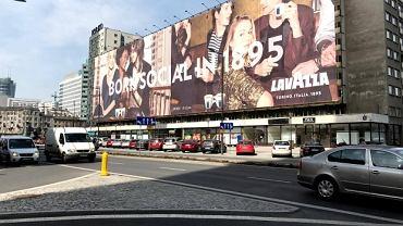 Gigantyczne płachty reklamowe