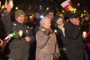 Drugi dzień demonstracji w obronie sądownictwa. W Katowicach przyszło około 80 osób