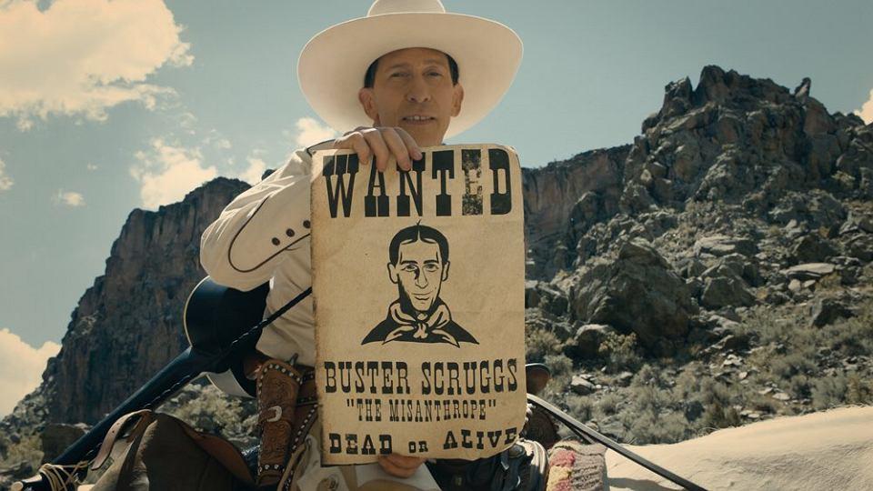 The Ballad of Buster Scruggs braci Coen - w tytułowej roli Tim Blake Nelson