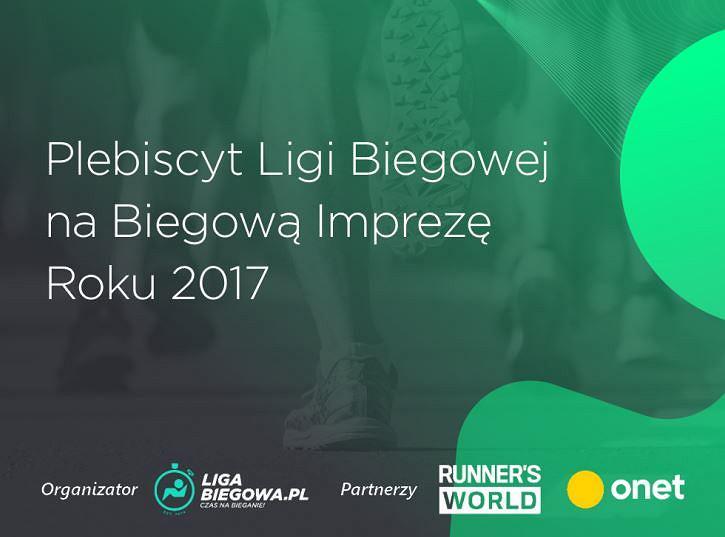 Plebiscyt Ligi Biegowej na Biegową Imprezę Roku 201