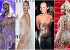 """Krótka historia """"naked dress"""", czyli sukienki, której prawie nie ma. Wcale nie wymyśliły jej Beyonce i Kim"""