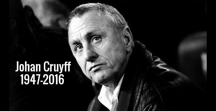 Piłka nożna straciła jedną ze swoich najwybitniejszych postaci. W wieku 68 lat zmarł Johan Cruyff. Legendarny Holender przegrał walkę z rakiem, o czym poinformowano na oficjalnej stronie internetowej.  Zobaczmy co o legendarnym piłkarzu mówią wielcy futbolu, których natchnął swoją postawą na boisku i poza nim.