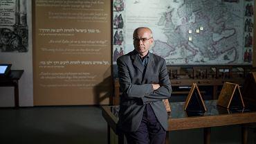 Prof Dariusz Stola w Muzeum Historii Żydów Polskich