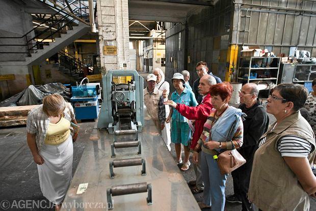 Zdjęcie numer 10 w galerii - Zwiedzali 150-letnią fabrykę obrabiarek na Wilczaku [ZDJĘCIA]