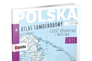 """Samochodowy atlas Polski z """"Gazetą Wyborczą"""""""