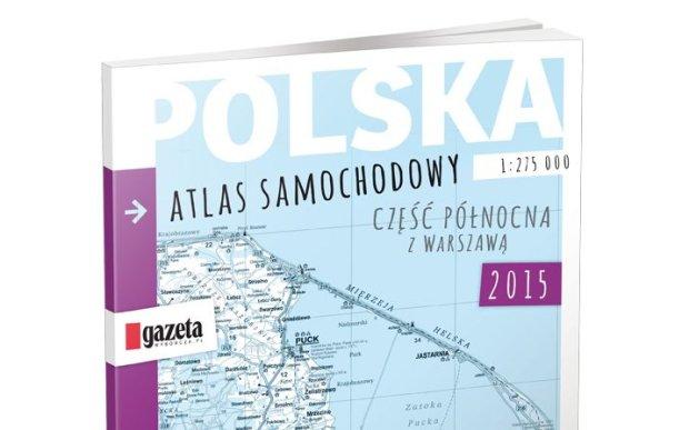 """Samochodowy atlas Polski z """"Gazet� Wyborcz�"""""""