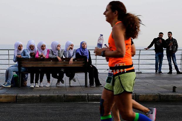 APTOPIX Mideast Lebanon Marathon