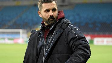 Trener Górnika Łęczna Andrzej Rybarski