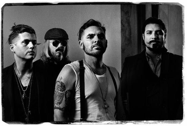 Amerykańska kapela zagra jako support, podczas europejskiej trasy koncertowej legendy rocka.