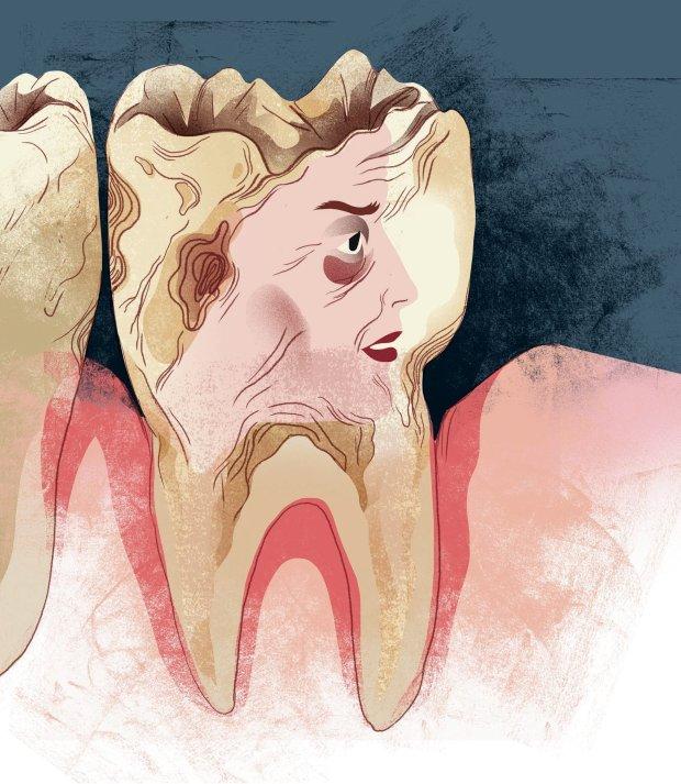 Bol� ci� g�owa, kark, plecy albo tylna cz�� kolan? Id� do dentysty!