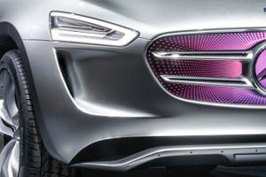 Mercedes Vision G-Code | Wyznacza kierunek
