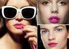 Usta w kolorze fuksji - 4 kroki do pi�knego makija�u
