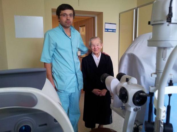 100-letnia zakonnica odzyska�a wzrok po 30 latach
